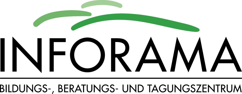 Logo INFORAMA A4 farbig